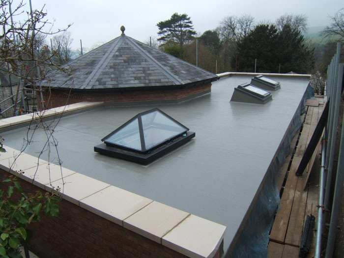 fiberglass roof